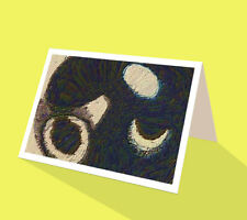 Abstract greeting card Anything you want it to be