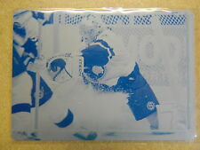 Upper Deck 2007-08 Cyan Printing Plate #144 Ray Emery Ottawa Senators