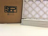 20x20x1 Merv 13 Pleated AC Furnace Filters. 6 pack  Captures airborne virus!