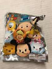 Disney Tsum Tsum Series 1 Figure Keyrings, LOT Of 10 Blind Packs For Collecting.