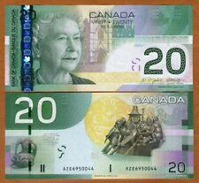 Canada, $20, 2004, P-103a, QEII, UNC