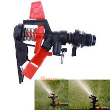 360° Adjustable Impact Sprinkler Spray Gun Large Area Water Garden Irrigation