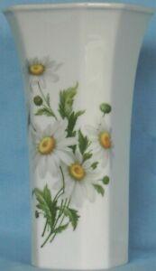 Vase Villeroy&Boch Heinrich 2465 Margeriten Blumen H = 21 cm RAR