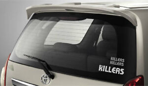 The Killers Stickers x 3, Printed In White