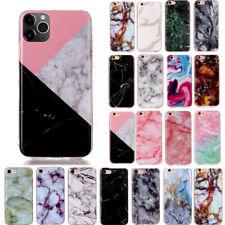 Patrón de mármol suave silicona Funda cubierta para iPhone SE 2020 11 Pro Max XS XR 8 7