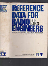 Reference Data for Radio Engineers (5th Edition) 1970 hardcover with dust jacket