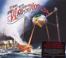 JEFF WAYNE THE WAR OF THE WORLDS OST CD NEW