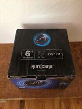 Hurricane Inline Fan - 6 Inch | 435 Cfm | High Performance, Commercial Grade