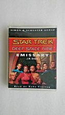 Star Trek Deep Space Nine - Emissary by J. M. Dillard (Audio cassette, 1993)