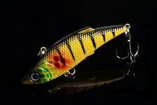 1pc VIB  Mepps 8cm/11.8g Fishing tackle peche 3D Eye Plastic Lure baits bass NEW
