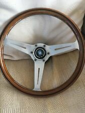 Nardi Wooden Steering Wheel With Boss