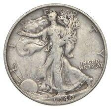 XF+ 1940-S Walking Liberty 90% Silver US Half Dollar - NICE COIN *857