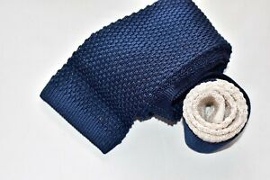 Men's Robert Talbott Blue  100% Silk  Knit Tie