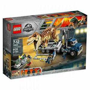 Lego 75933 Jurassic World T. Rex Transport  neu  OVP Top Sammlerzustand