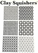 Rubber stamp moorish by Clay Squishers, great for polymer clay