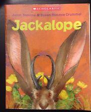 Jackalope by Janet Stevens (2004, Paperback with Read-Along Cassette)