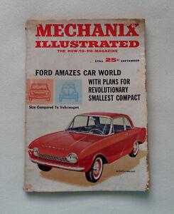 Mechanix Illustrated Magazine September 1961 Volume 57, No. 9