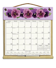 CALENDAR WITH 2018, 2019 & AN ORDER FORM FOR 2020 - PANSIES DESIGN