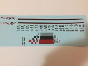 1/18 scale Modified Tuning NISMO & SPONSOR decals