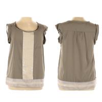 Loft Ann Taylor Womens Top XL Sequin Scoop Neck Pullover Short Sleeve Green