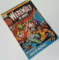 Marvel Werewolf By Night Comic Book V1 #3 January 1973 Mike Ploog