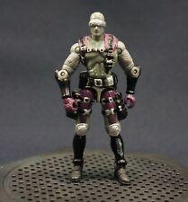 GI Joe vs Cobra Snake Eyes V13 Grey Variant Action Figure 1:18 2002 Commando