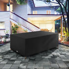 Patio Furniture Table Cover Waterproof Oxford Cloth Garden Outdoor Rattan Cube