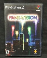Fantavision -  PS2 Playstation 2 COMPLETE Game 1 Owner Mint Disc