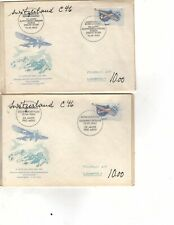 7 Fdc First Day Cover Helvetia Switzerland (m17