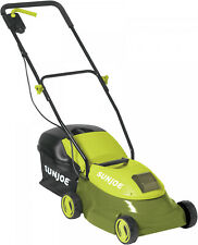 Electric Lawn Mower Battery Powered 28V Battery And Charger Included 14 Green