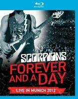 SCORPIONS - LIVE IN MUNICH 2012 - FOREVER AND A DAY  BLU-RAY NEW+