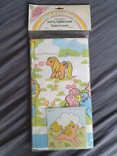 My Little Pony G1 Tablecoth with card NIP MIP