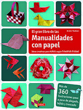 Gran libro manualidades con papel. NUEVO. Nacional URGENTE/Internac. económico.