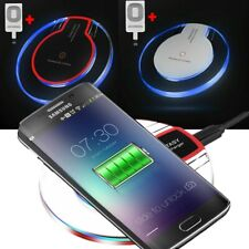 Qi Wireless Fast Charger Dock + Charging Pad Receiver For iPhone 5 6 6S 7 Plus