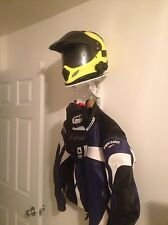 Helmet Butler Motorcycle Helmet & Jacket Display Hanger Storage System ....WHITE