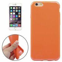 Housse de Protection TPU Étui Coque Pour Téléphone Apple IPHONE 6 Plus Orange