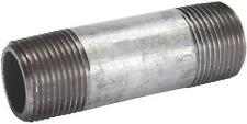 "NEW B&K GALVANIZED PIPE THREADED NIPPLE FITTING 3"" X 4"" 3114063"