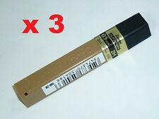 3x Pentel spare lead 0.7mm B refill leads 4 mechanical pencils replacement lead