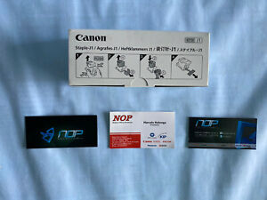 OEM NEW Canon Staple J1 6707A001AC 3-Pack/5,000 Staples IR 5570 5075 5070 5065