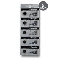 Energizer Battery 373(SR916SW) Silver Oxide 1.55V (5 Pack)