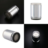 F62A Water Stream Nightlight Bulb Light LED Sensors Temperature Faucet Tap