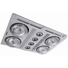 Martec Profile Plus Bathroom Heater 4 x 275W Heat Lamps Exhaust & Light White