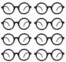 Eight 8 Daria Costume Glasses UV 400 Nerd Bookworm Round Eye Dress Up Halloween