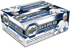 2019-20 Upper Deck Hockey Series 2 Factory Sealed 24 Pack Box