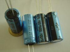 UKA1H102MHD 2 pcs KA 1000uF 50V Nichicon AUDIO Capacitor +105°C NEU Kondensator