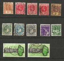 Nigeria timbres anciens oblitérés /TR285