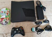 XBOX 360 Black 250GB Console bundle With Forza Horizon 2 GTA 5 And more Games