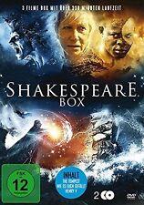 Shakespeare : Der Sturm  - Wie es euch gefällt - Henry V - DVD BOX NEU (389)