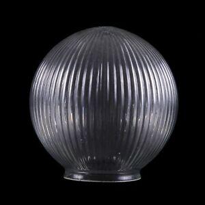 Holophane glass globe lamp shade 15cm