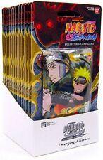 Naruto Shippuden Card Game Emerging Alliance Blister Box [15 Booster Packs]